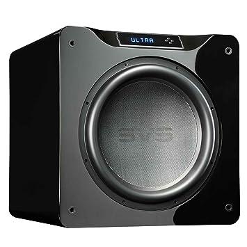 Svs Sb16 Ultra Subwoofer Gloss Black Amazon Co Uk Electronics