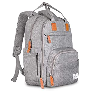 TETHYS Diaper Bag Backpack