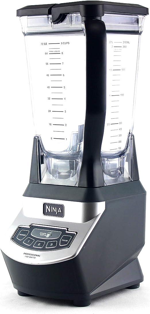 Ninja (BL660) licuadora Profesional de 72 oz 1100 W con batidora ...