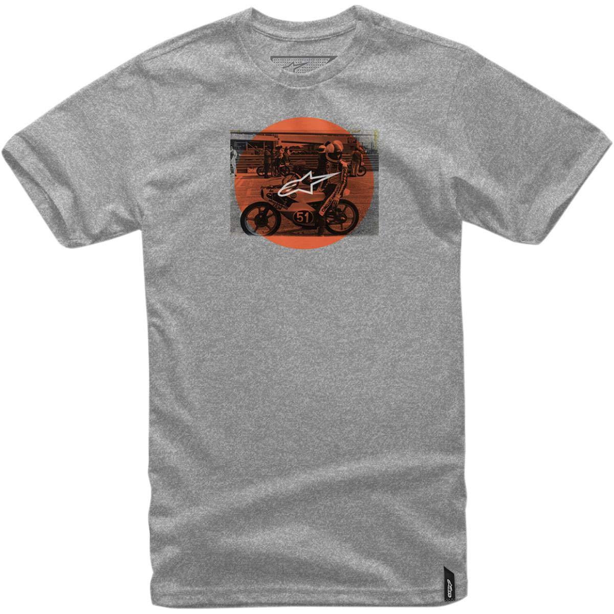 Alpinestars Herren Task Motorsports Modern Fit Short Sleeve T-Shirt