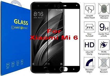 Xiaomi Mi 6 - Curvo 3D Cristal Templado Protector de Pantalla ...