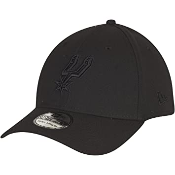 New Era Mujeres Gorras / Flexfitted Cap NBA Black On Black San Antonio Spurs 39Thirty: Amazon.es: Ropa y accesorios