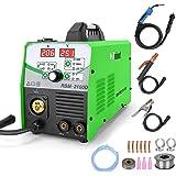 Reboot MIG Welder Flux Core Wire Automatic 110V/220V Digital MIG210 Lift Tig Arc Stick Mig Welding Machine Solid Wire Gas/Gas