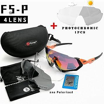 Flight Jacket Bicicleta Ciclismo Gafas de Sol Lente fotocromática ...