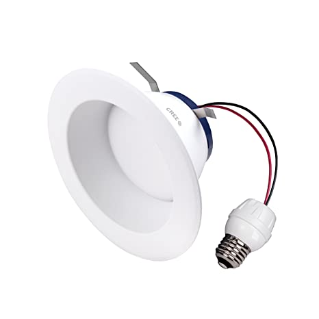 Cree DRDL6-11027009-12DE26-1C100 6 In. TW Series 85W Equivalent High Brightness Soft White (2700K) Dimmable Led Retrofit Recessed Downlight - - Amazon.com