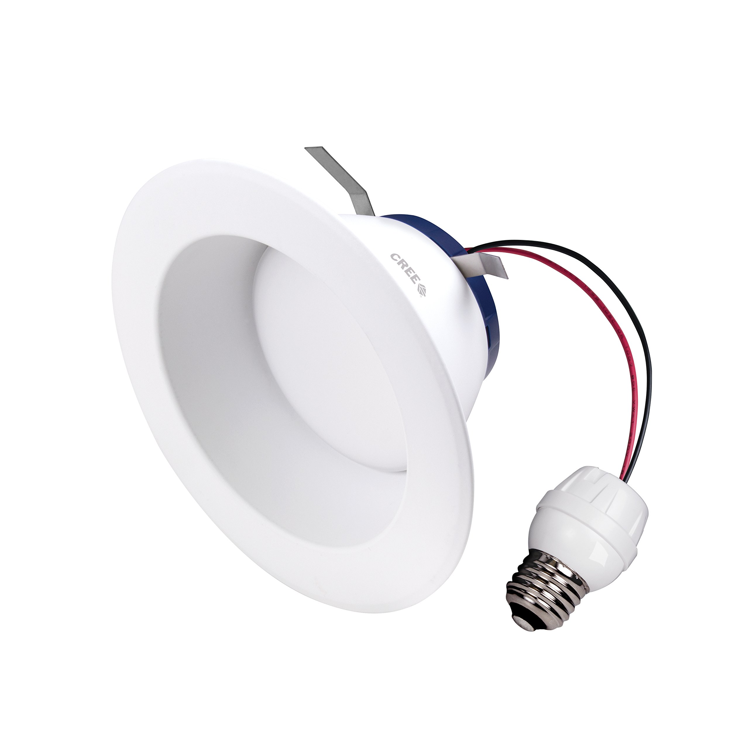 Cree TW Series 6 in. 65W Equivalent Soft White (2700K) LED Retrofit Recessed Downlight (4-pack)