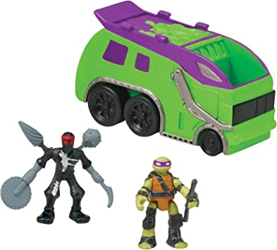 Amazon.com: Teenage Mutant Ninja Turtles Micro Mutant Camión ...