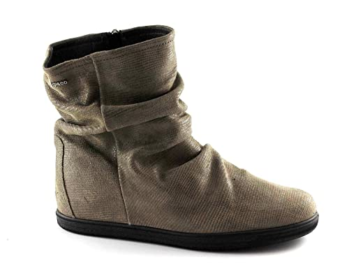 IGI CO 67653 marrone fango scarpe donna stivaletti tronchetti zeppa interna  zip 40  Amazon.it  Scarpe e borse 6b16ee94f16