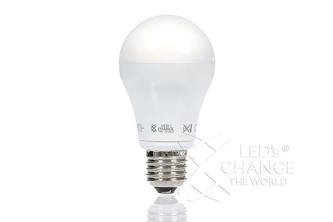 Leds change the world - Bombilla led (E27, regulable, 11W, 2700 K