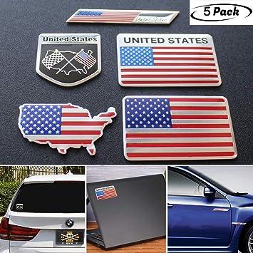 2x Italy National flag Aluminium Badge Decal Emblem Sticker For Car Door Window