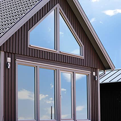 Volcanics Película para ventana de una sola vía, película para ventana anti rayos UV, extraíble, control de calor, privacidad, tinte de vidrio para ...