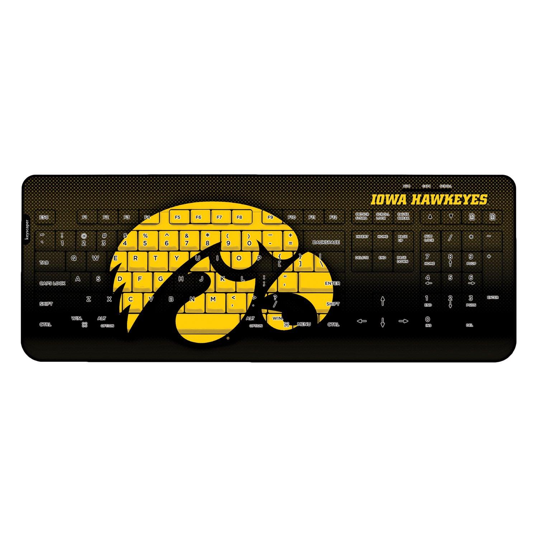 Iowa Hawkeyes Wired USB Keyboard NCAA by Keyscaper
