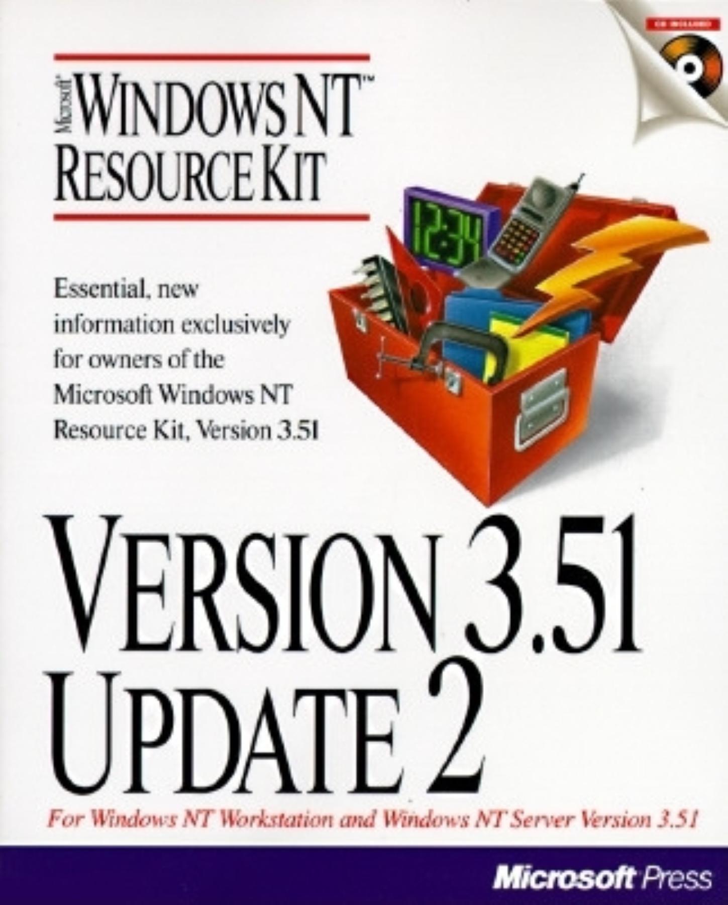 Read Online Version 3.51 Update 2: Microsoft Windows NT Resource Kit ebook