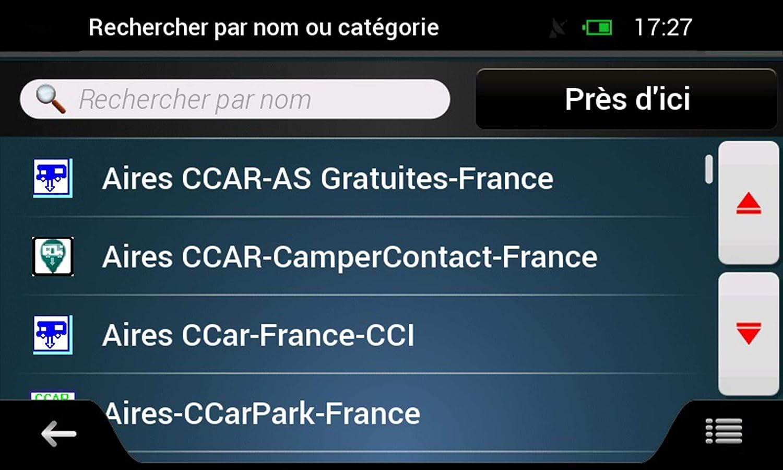 GPS per Camper 7 pollici HD Europa 48 paesi