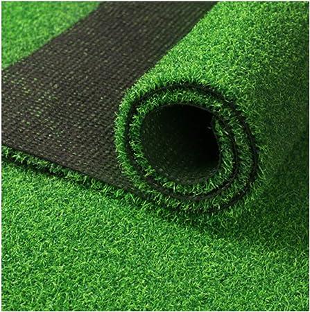 NOOYC Cesped sintético Hierba Alfombra, Tacto Cómodo Premium Césped Artificial de 10 mm no tóxico Césped Artificial para Jardín Realista Suave Césped de Verde Alta,0.5x2m/1.5x6ft: Amazon.es: Hogar