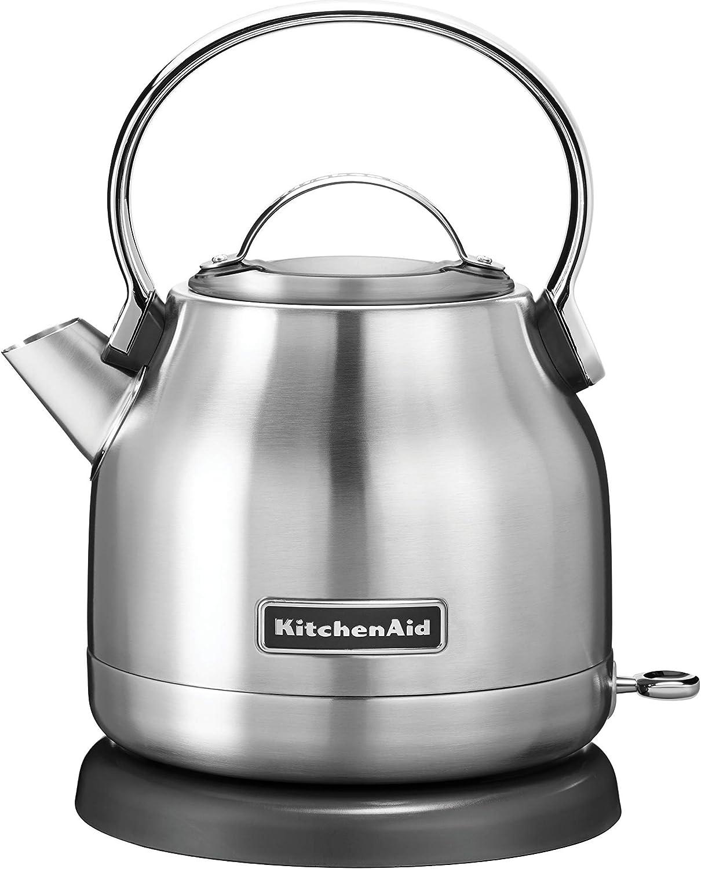 KitchenAid KEK1222SX 1.25-Liter Electric Kettle – Brushed Stainless Steel Renewed