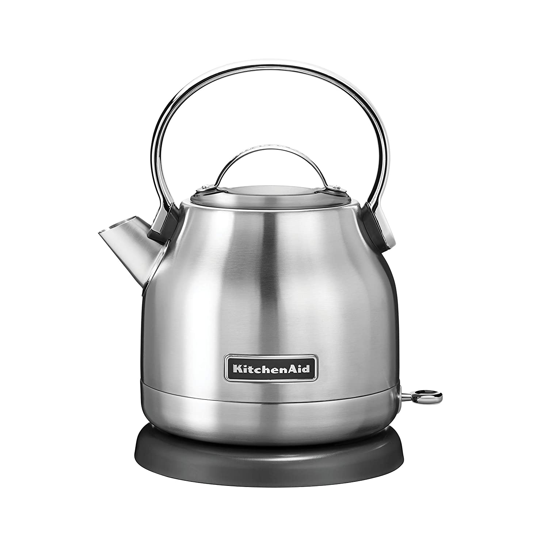 KitchenAid Refurbished 1.25 Liter Electric Kettle | Brushed Stainless Steel