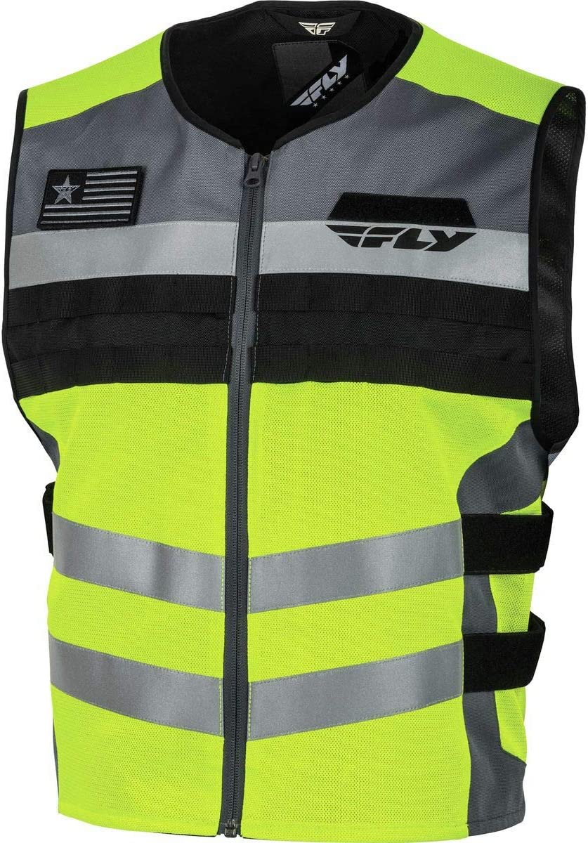 Hi-Vis Fly Racing Fast-Pass Vest Large//X-Large