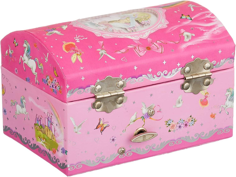 Goki 15518 - Cajas de música (Swan Lake, Cartón, Rosa, 162 mm, 108 mm, 105 mm): Amazon.es: Juguetes y juegos