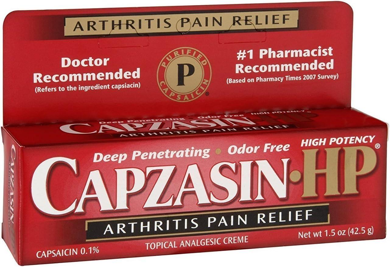 Capzasin-HP Arthritis Pain Relief 1.5 oz pack of 1