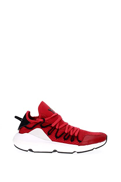 5682ae3f3741e Y-3 Kusari Trainers Red 9 UK  Amazon.co.uk  Shoes   Bags