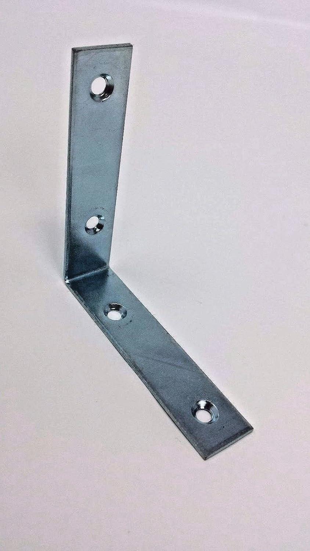 RIGHT ANGLE METAL L BRACKET 80×18mm CORNER BRACE FIXING SUPPORT REPAIR BRACKET