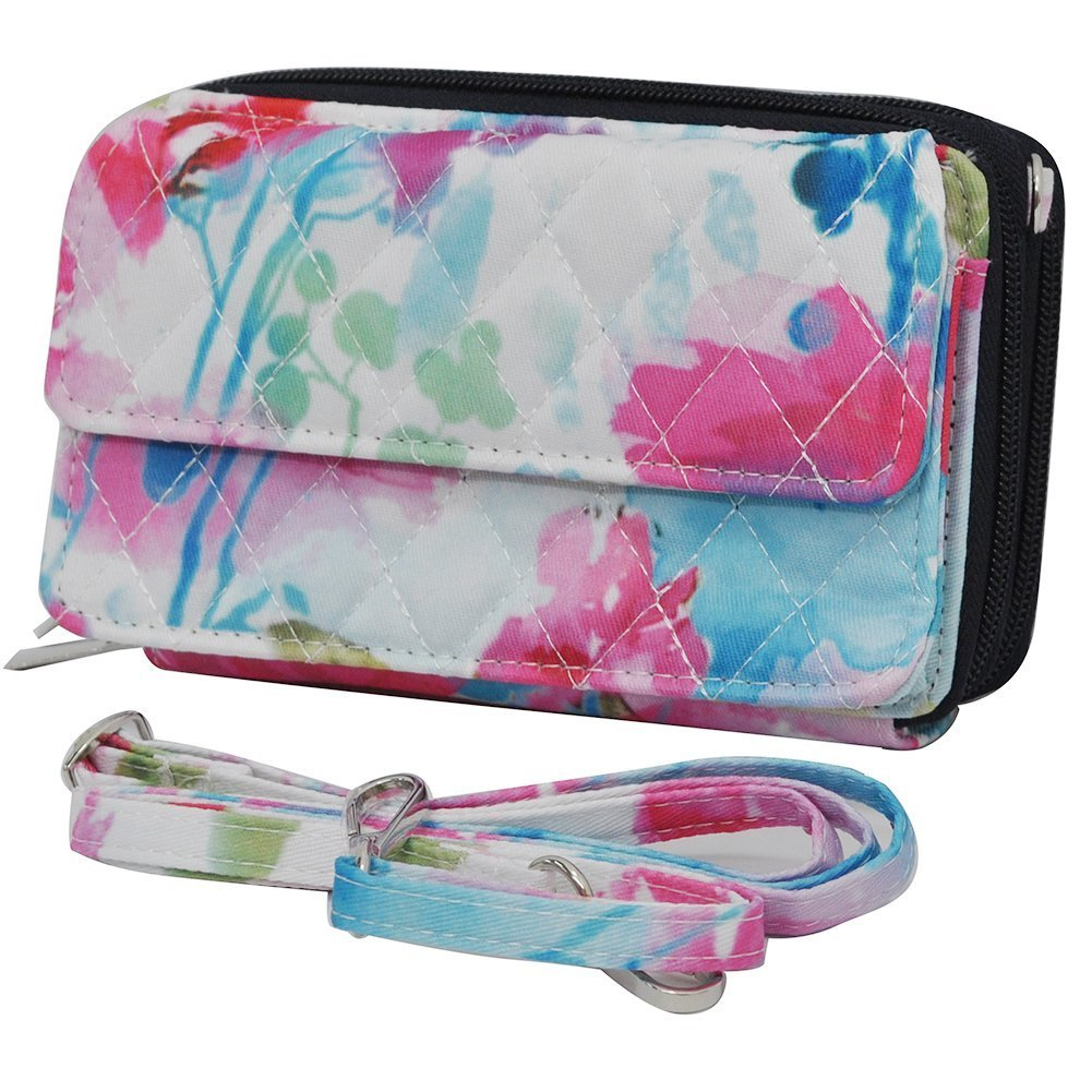 Summer Watercolor NGIL All in One Wallet