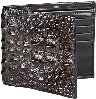 product image for Handmade Brown Hornback Alligator Wallet
