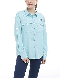 00f8e92b Little Donkey Andy Women's UPF 50+ UV Protection Shirt, Long Sleeve Fishing  Shirt,