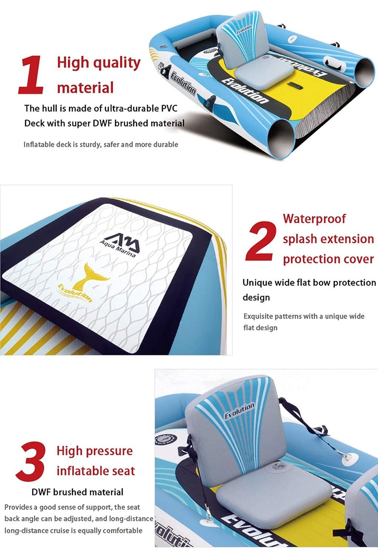 GAOXQ - Kit de surf con soporte para tabla de surf, incluye bomba de aire manual con manómetro de presión ajustable de aluminio, kit de reparación de palas ...
