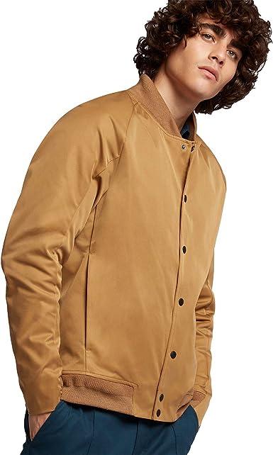 Nike Nikelab Roger Federer Us Open Jacket L Golden Beige Armory Navy At Amazon Men S Clothing Store