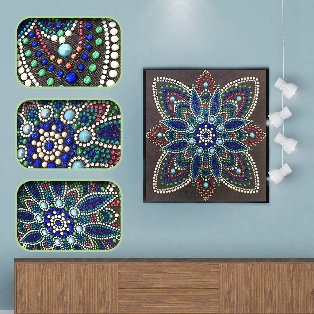 Flower Lamdoo 5D Special Diamond Painting Kits Diamond Embroidery Kits,by Numbers Kits Crafts /& Sewing Cross Stitch,Wall Decoration