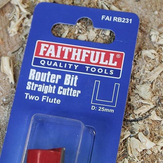 Faithfull Fraise /à d/éfoncer 20.00M