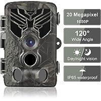 DIGITNOW 20MP Cámaras de Caza 1080P HD Impermeable,Gran