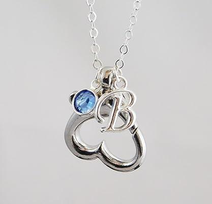 Personalized Wedding & Engagement Ring Holder Pendant Necklace