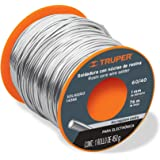 Truper SOL-60/40, Soldadura con núcleo de resina 60/40 para electrónica