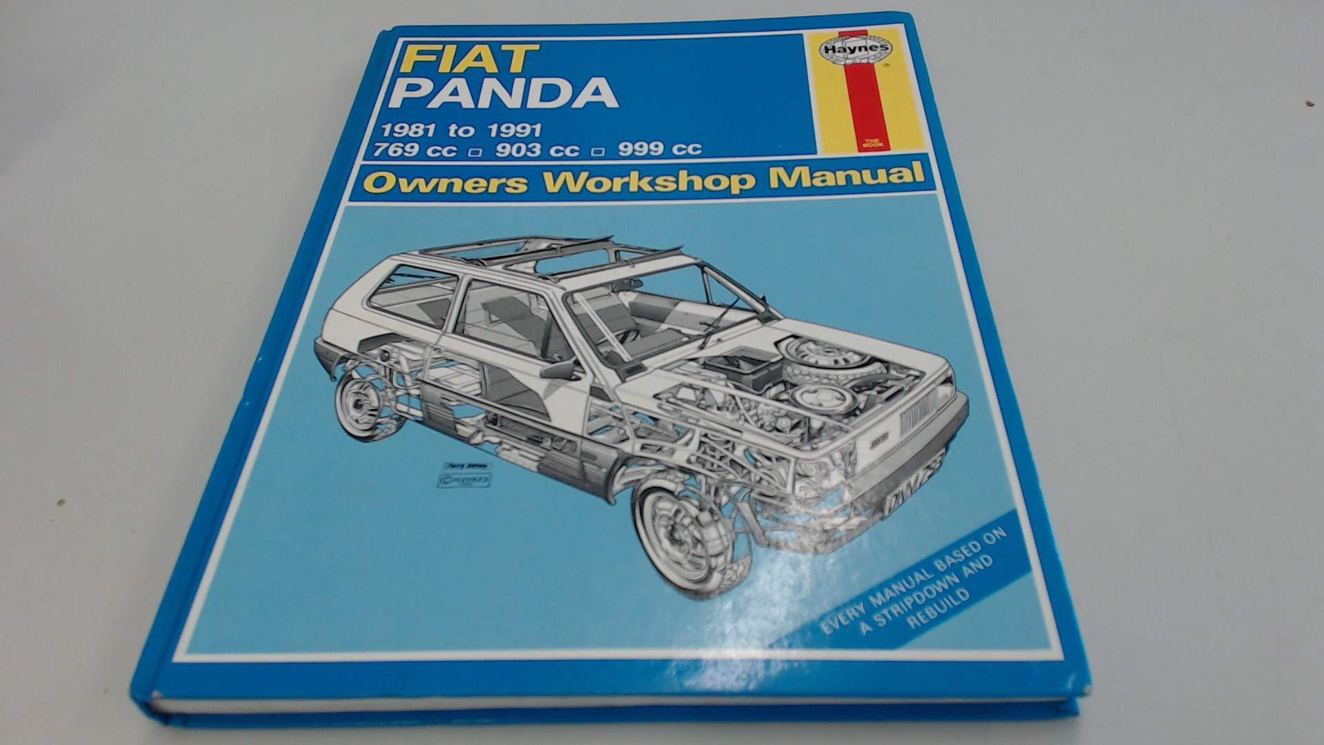 Fiat Panda 1981-91 Owner's Workshop Manual: Peter G. Strasman:  9781850105169: Amazon.com: Books