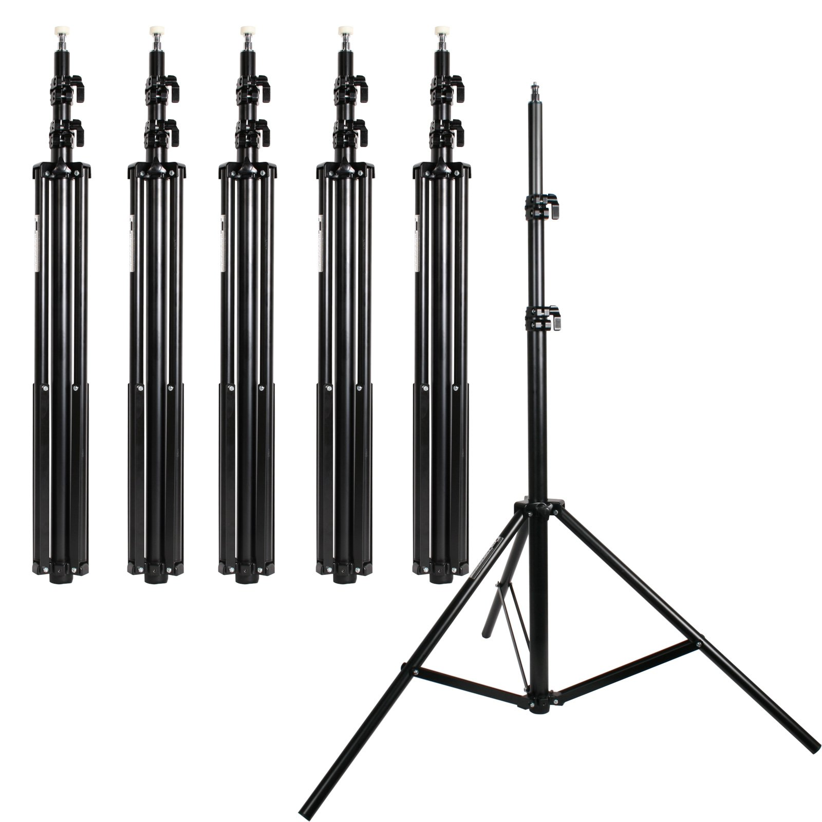 Light Stands Pack of 6 All Metal Locking Collars 7ft 6in Steve Kaeser Photographic Lighting Since 1989