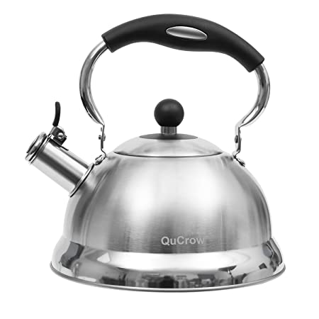 Review QuCrow Whistling Tea Kettle