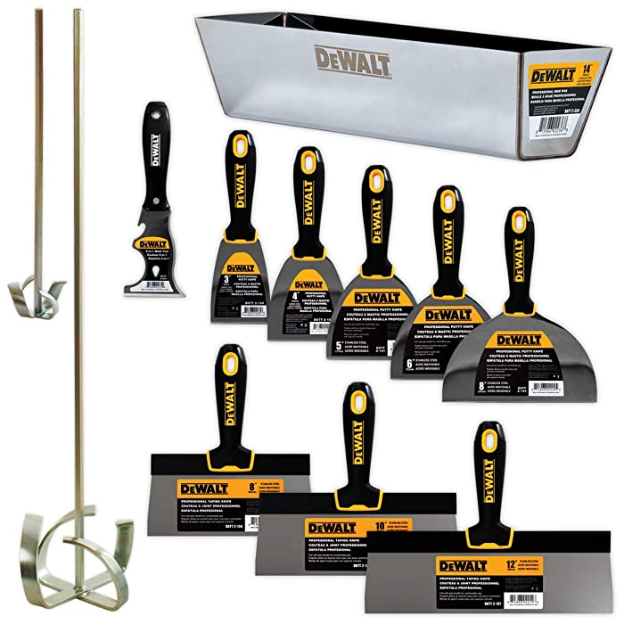 """DEWALT DELUXE Stainless Hand Tool Set 