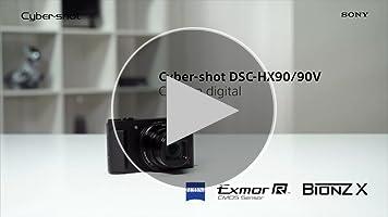 Sony Cyber-Shot DSC-HX90 - Cámara compacta de 18.2 Mp (pantalla de ...