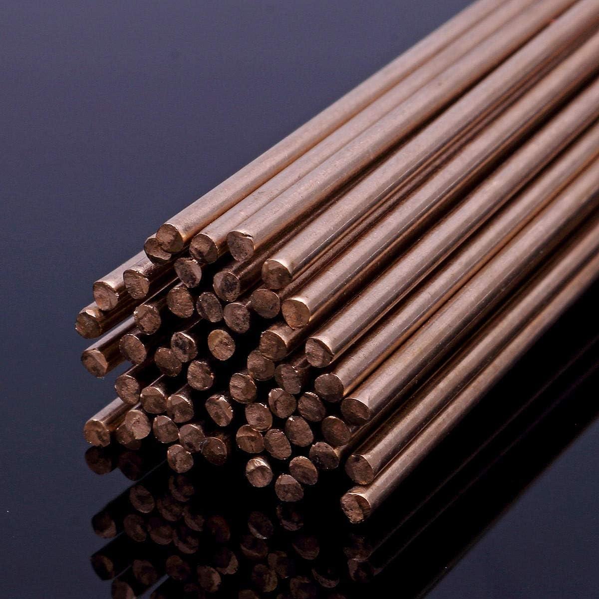 DJY-JY Accesorios de Soldadura 450g 3//32 Pulgadas de Silicon Oro Bronce TIG Varillas 91cm de Largo Varilla de 2 mm de di/ámetro Accesorios for Herramientas el/éctricas