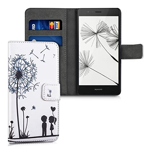70 opinioni per kwmobile Custodia portafoglio per Huawei P9 Lite- Cover a libro in simil pelle