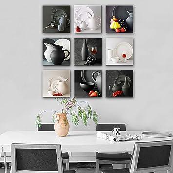 Ölgemälde Kessel Und Geschirr Serie Malerei MINI GRÖSSE One PC Home Decor  Auf Leinwand Moderne Wanddrucke