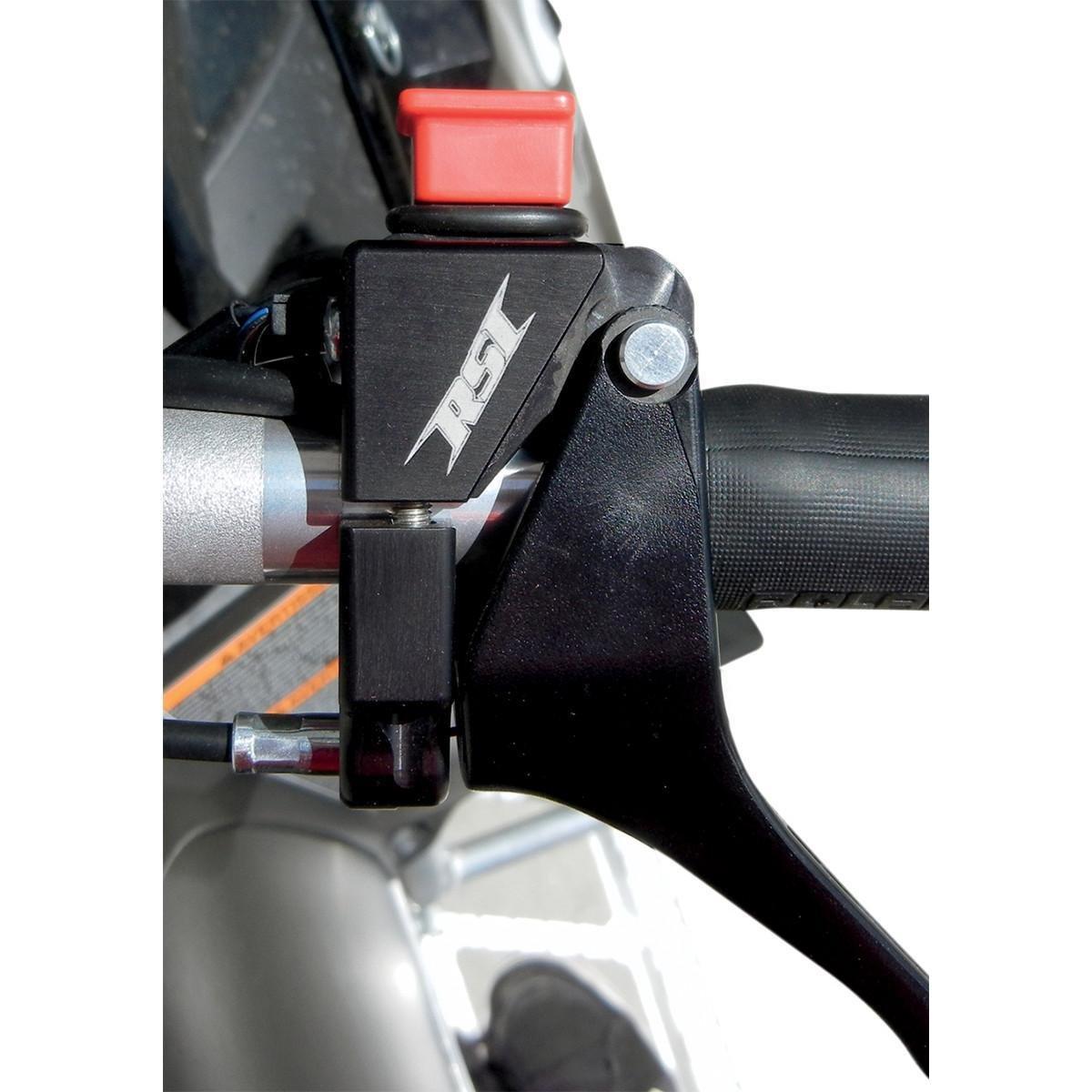 RSI Racing TB-4-C Throttle Block Kit with Waterproof Push Button Kill Switch