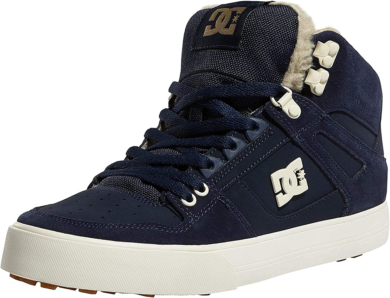 DC Navy-Khaki Pure Wc US Sherpa Lined Winter Boots