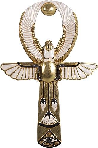 Design Toscano Egyptian Amun-Re Ankh Wall Sculpture