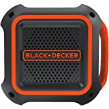 BLACK+DECKER BDCSP18N-XE Bluetooth Speaker, 18V, Black/Orange