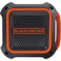 BLACK+DECKER BDCSP18N-XE Bluetooth Speaker, 18V, Black/Orange