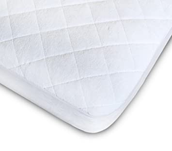 Amazon Com Crib Mattress Pad Fitted Quilted Premium Quality